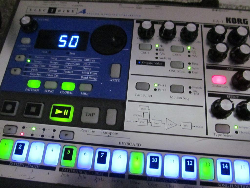 Korg EA-1 LED Modded Mods